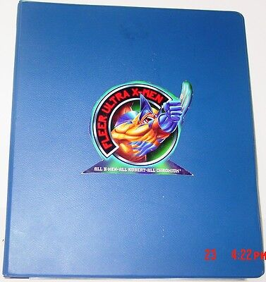 "'95 FLEER ULTRA XMEN MAKESHIFT 1"" BINDER"