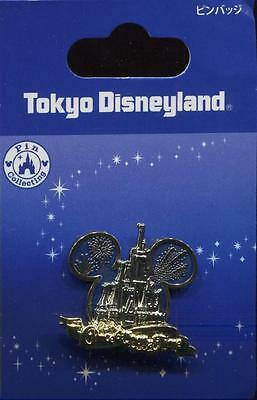 Tokyo Disneyland Once Upon A Time Castle Mickey Icon 3D Disney Pin
