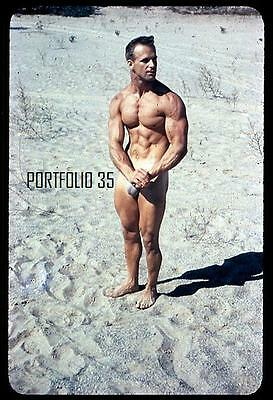 VIC SEIPKE 1950's BODYBUILDER MUSCLE FLEXING LAB REPRINT 4X6