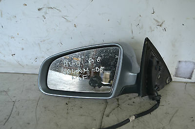 Audi A6 Wing Mirror Passenger Side Front Left A6 Saloon S Line NSF  2006