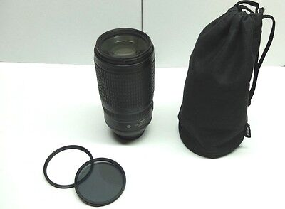 Nikon Zoom-Nikkor 70-300mm F/4.5-5.6 G SWM AF-S ED VR IF M/A Camera Lens
