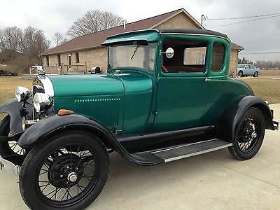 Ford : Model A 5 Window Coupe 1929 ford model a coupe with rumble seat