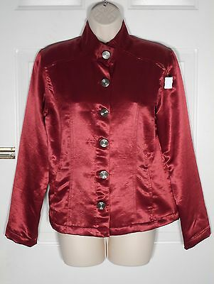CHICO DESIGN  SIZE 1  100% Poly Long Sleeves 6 buttons in Front LINED JACKET