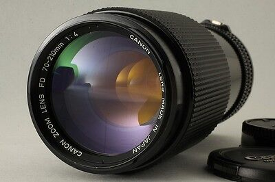 Excellent++ Canon New FD NFD 70-210mm F/4 F 4 from Japn #110