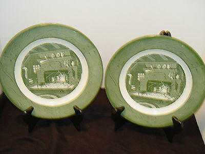 Colonial Homestead By Royal 2 Dinner Plates