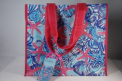 Lilly Pulitzer Market Bag Recyclable ECO Shopper Tote Reusable Fashion Shopping