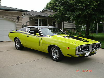 Dodge : Charger R/T 1971 dodge charger r t hardtop 2 door 7.2 l