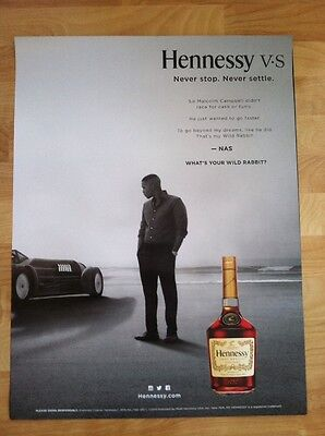 2 Nas Hennessy Hip Hop Promo Posters. Dr Dre Beats 2chainz Drake Usher Wu Tang