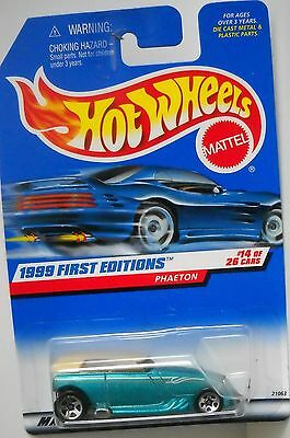 HOT WHEELS 1999 FIRST EDITIONS COLLECTOR# 916 PHAETON #14 OF 26 CARS LOT 3