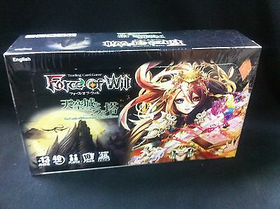 Force Of Will Castle of Heavens and The Two Towers Booster Box Factory Sealed