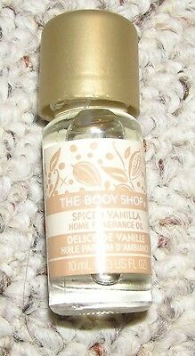The BODY Shop Home Fragrance Oil *** SPICED VANILLA *** NEW