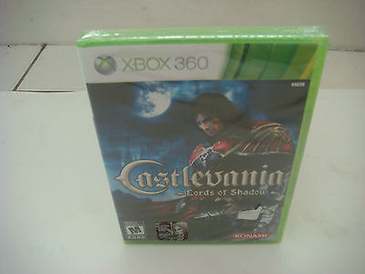 Castlevania: Lords of Shadow  (Xbox 360, 2010) NEW