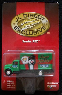 Johnny Lightning JL Direct Exclusive Happy Holidays Santa PEZ Truck 1:64 RARE
