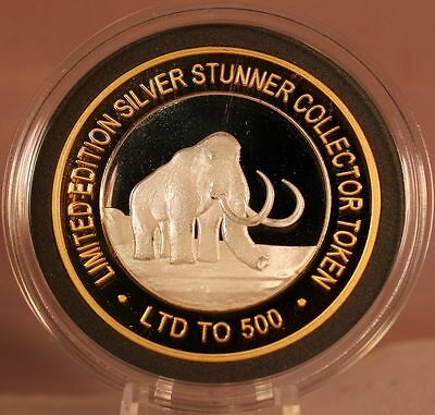 Woolly Mammoth Silver Stunner Coin - Limited Edition 500 Released