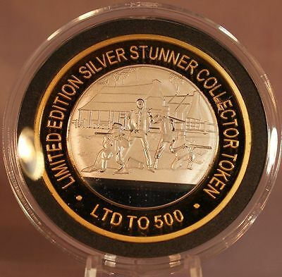 Ned Kelly#3 The Glenrowan Inn Silver Stunner Coin - Limited Edition 500 Released