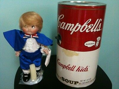 Campbell Soup Kids Series 125 Years Porcelain Doll George Washington NRFB