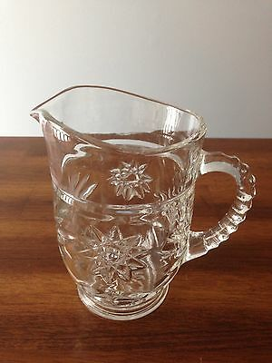 ANCHOR HOCKING STAR OF DAVID SMALL PITCHER
