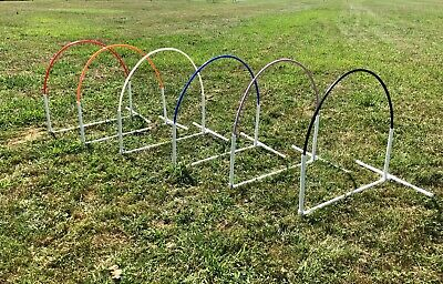 NADAC Dog Agility Equipment Arched style Hoop  6 Colors Avail.