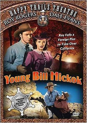 Young Bill Hickok (DVD, 2003, Happy Trails Theatre) Roy Rogers! NEW!