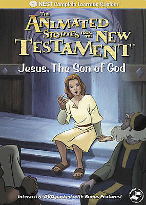 NEWSEALED - Animated Stories from the New Testament - Jesus, Son of God (DVD)