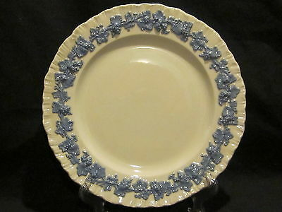 Wedgwood Queen's Ware Lavender on Cream Dinner Plate