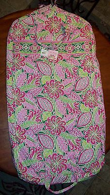 VERA BRADLEY PETAL PINK GARMENT BAG, NEW WITH TAGS