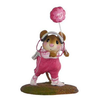 WALKMOUSE FOR HOPE by Wee Forest Folk, WFF# MS-25, PINK Breast Cancer LTD 2010