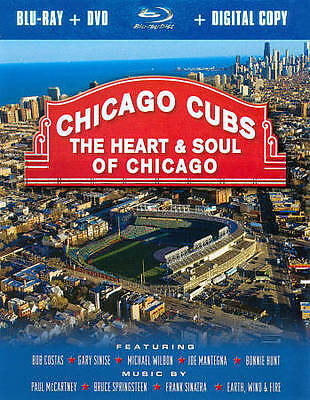 Chicago Cubs: The Heart & Soul of Chicago (Blu-ray/DVD, 2011, 2-Disc Set)