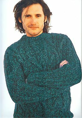 Martin Storey Lars Pullover in Discontinued Rowan Plaid - Moonwave colorway