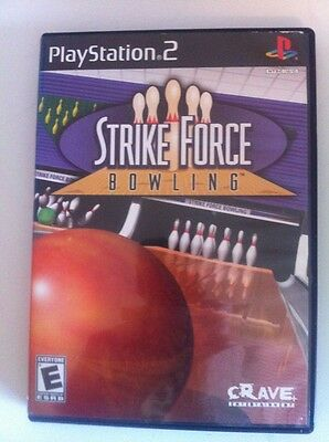 Strike Force Bowling  (Sony PlayStation 2, 2004) ~ Complete ~