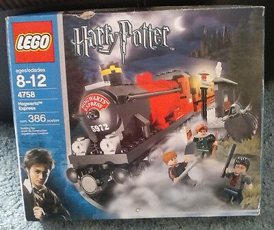 Lego Harry Potter Prisoner of Azkaban Hogwart's Express (4758) Complete with box