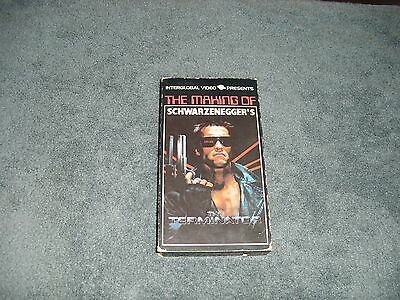 *RARE VHS* The Making of THE TERMINATOR OOP. CANADIAN RELEASE Schwarzenegger
