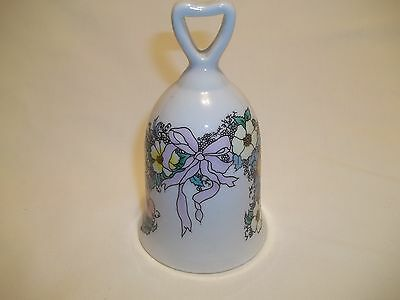 FLORAL DESIGN  COLLECTOR'S BELL