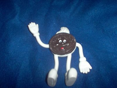 Oreo Cookie Bendable Toy Chocolate PVC Collectible Figure Nabisco Collectible EX