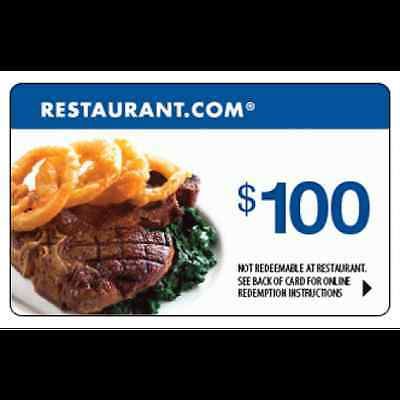 $500 Restaurant.com gift card - Fast Delivery!!