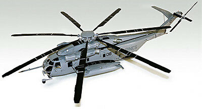 NEW 1/48 CH-53E SUPER STALLION U.S MARINES Helicopter ACADEMY MODEL KIT #12209