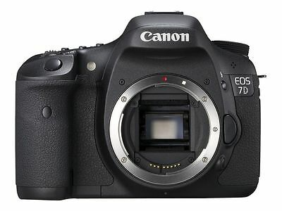 Canon EOS 7D Digital SLR Camera Body, 18.0 Megapixel