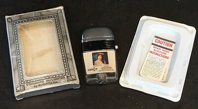 Vintage 1960's LORETTA LYNN / WILBURN BROS Cigarette SCRIPTO VU-LIGHTER in BOX!