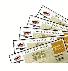 $150 Restaurant.com Gift Card--  No Expiration!