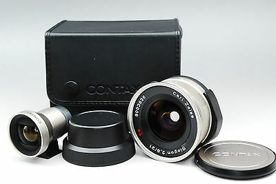 Contax Zeiss Biogon T G-Biogon 21 mm F/2.8 AF Lens From Japan