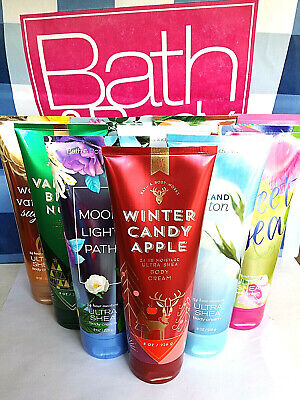 BATH AND BODY WORKS ULTRA SHEA BODY CREAM 8 OZ/226g YOU PICK THE SCENT!! NEW