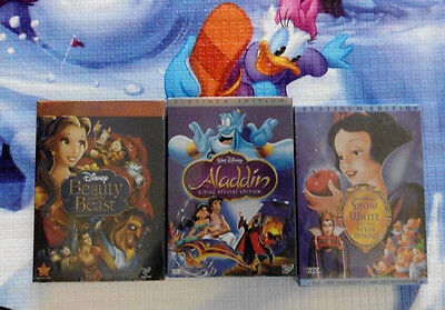 aladdin, snow white and the seven dwarfs,beauty and the beast
