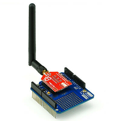 Tinysine WiFi Shield for Arduino With Antenna support UNO/Mega