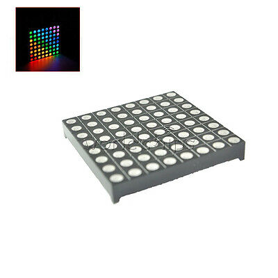 8x8 8*8 5mm Full Colour RGB Colorful LED Dot Matrix Display Module Common Anode