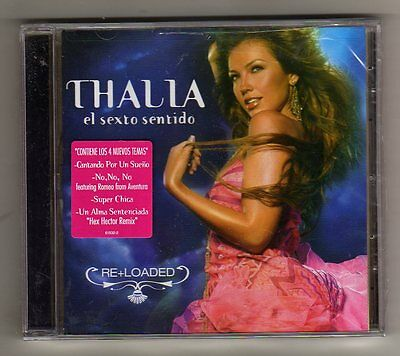 Thalia - EL SEXTO SENTIDO RE+ LOADED - CD LIMITED EDITION USA - SEALED MINT