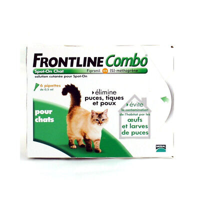 Frontline Combo Spot-On Chat - 6 pipettes • EUR 22,29