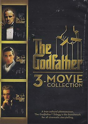 The Godfather 3-movie Collection( DVD +Digital code2014) Brand new