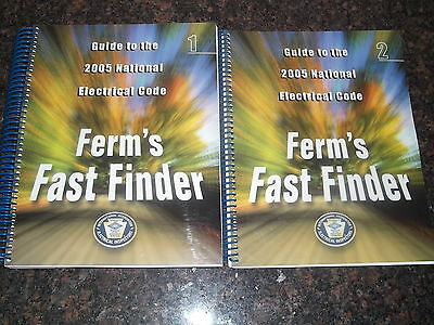 Ferm's Finder Guide To The National Electrical Code Nec Handbook Manual 2005