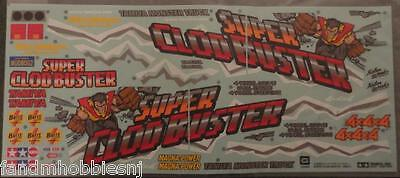 New Tamiya Super Clod Buster Decal Sticker Sheet - New From the Kit 9495431