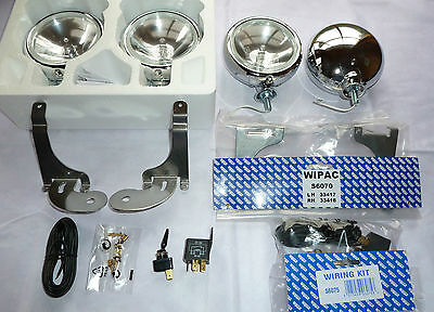 BMW Mini ONE Convertible  01-06 Stainless Steel Spot Lights like Chrome + kit